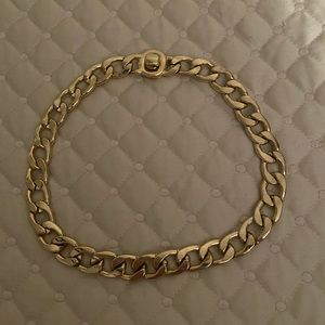 Kenneth Cole Gold Chain Link Choker